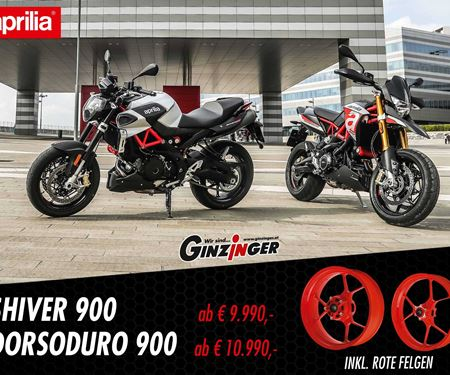 Ginzinger GmbH Traun-News: Aprilia 900er Felgenaktion!