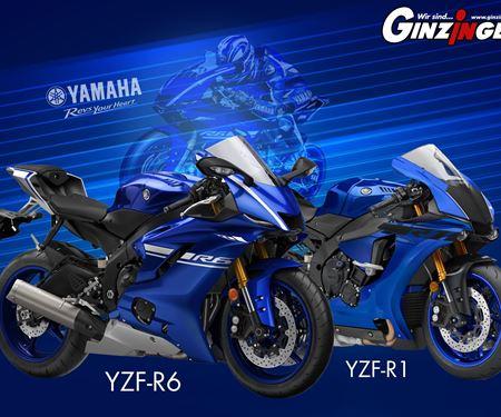 Ginzinger GmbH Traun-News: Yamaha Supersport Modelle!