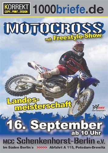 Motorcross in Schenkenhorst