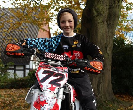 Ducati Melle-News: Loris Wobker - Norddeutscher Meister im Motocross bis 65 Kubik