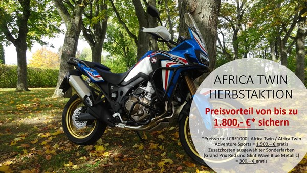 AFRICA TWIN HERBSTAKTION