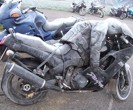 Motorrad Wintereinstellplatz