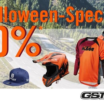 20% Halloween-Special!  20% Halloween-Special!  Am 31. Oktober 2019 haben wir eine 20% Feiertags Aktion bei GST Berlin.  *    20% Preisnachlass auf B... Weiter >>