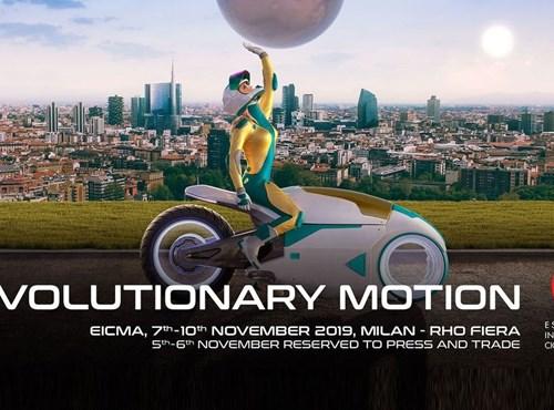 EICMA ITALY - Mailand vom 07. - 10. 11. 2019
