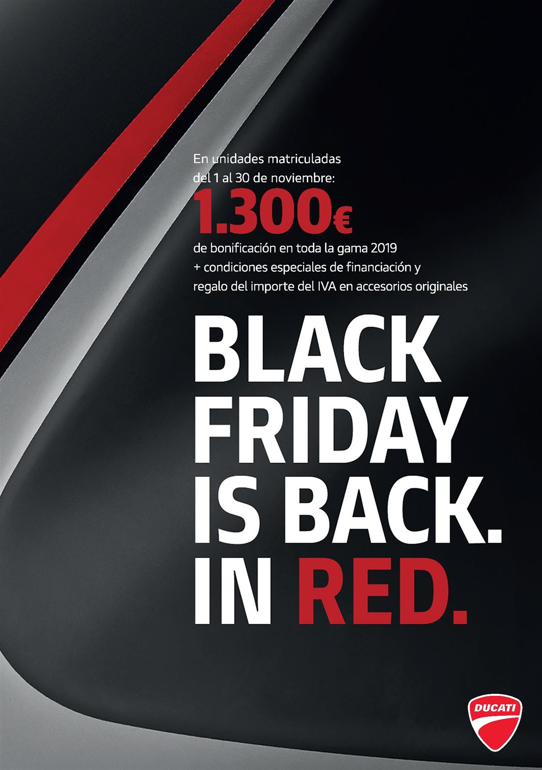 BLACK FRIDAY IS BACK.IN RED