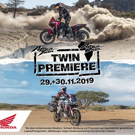 AfricaTwin + AfricaTwin AdventureSports Premiere
