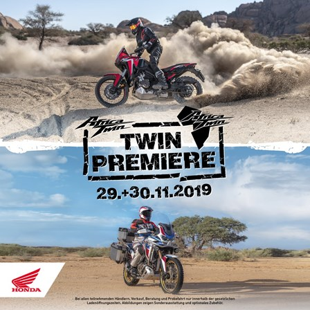 Africa Twin Premiere Modell 2020