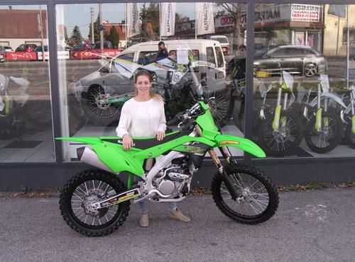 Melanie und Nadine mit neuen Bike ausgestattet!