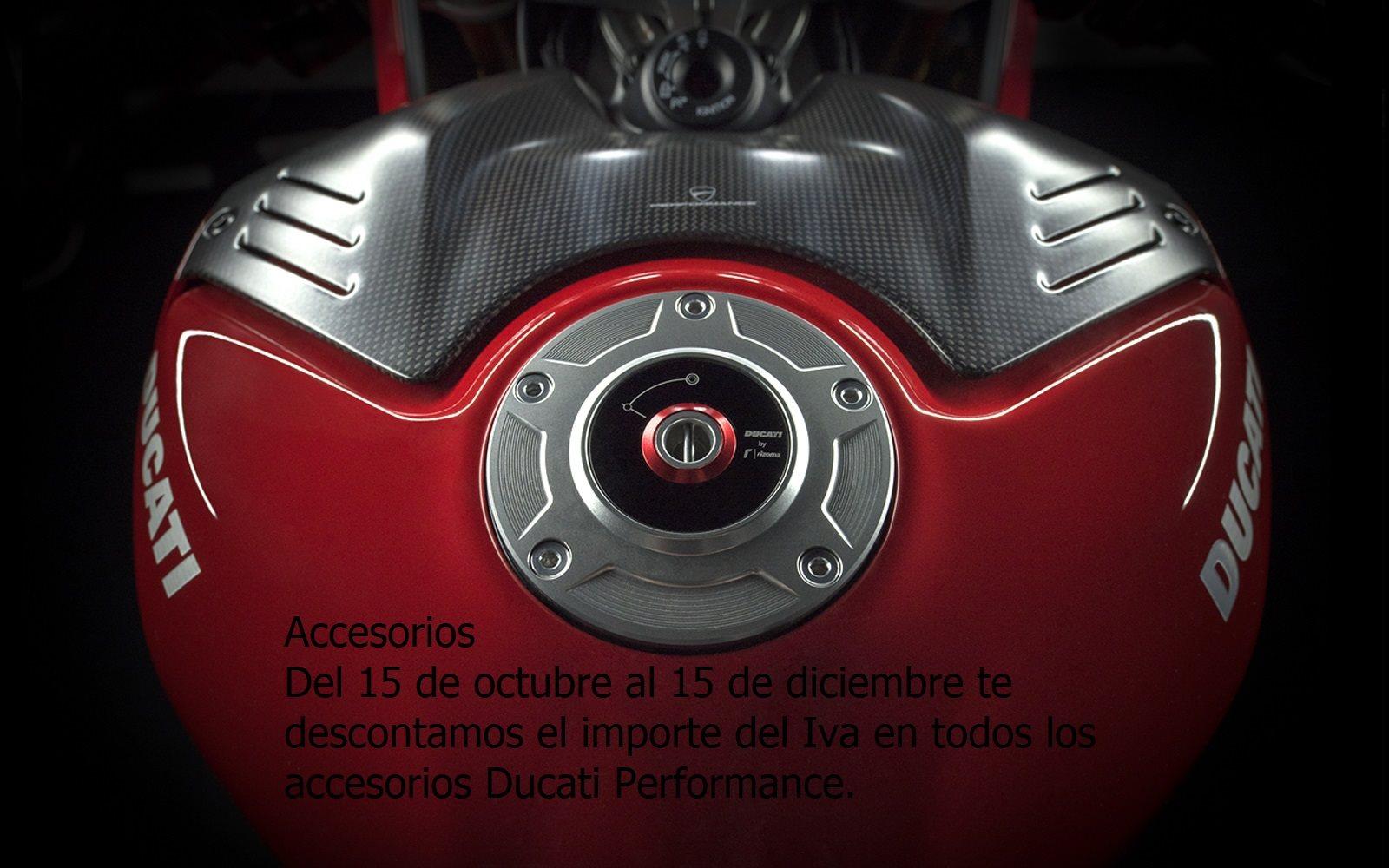 Descuento Accesorios Ducati Performance