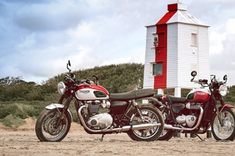 Bonneville T100 & T120 Bud Ekins