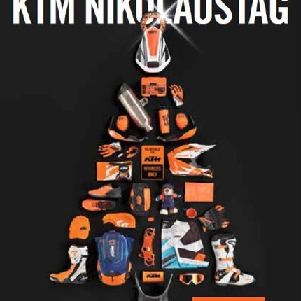 KTM Nikolaus am 07.Dezember 2019  EINLADUNG ZUM KTM NIKOLAUSTAG Wir laden euch herzlich zum KTM Nikolaustag am 7.Dezember 2019 ein... Weiter >>