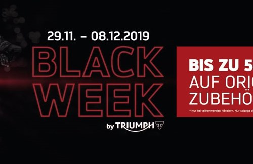BLACK WEEK by TRIUMPH
