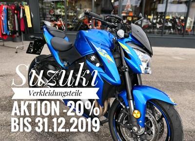 NEWS Suzuki  & Honda Verkleidungsaktion  -20%