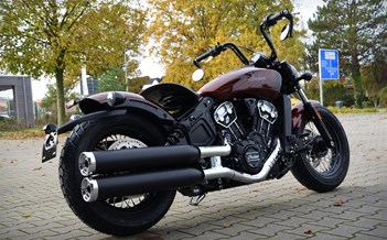 NEWS > > > INDIAN SCOUT BOBBER TWENTY