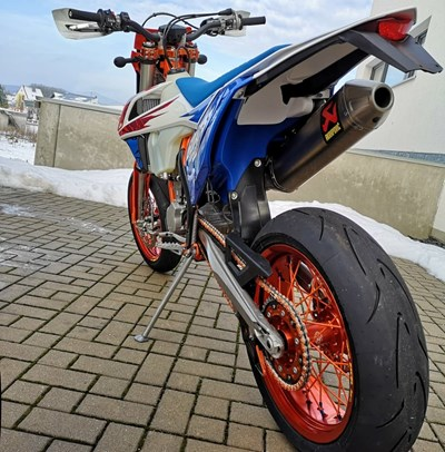 Supermotoperfection - unsere EXC Umbauten