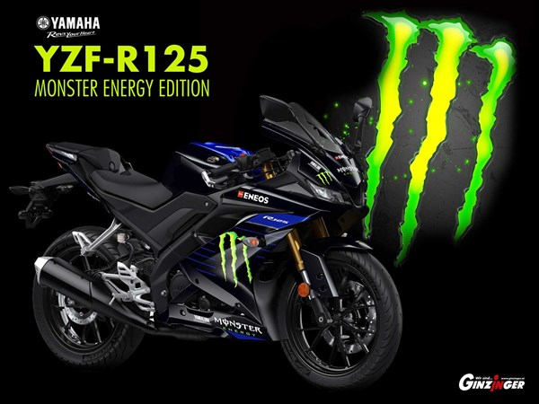 Yamaha YZF-R125 Monster Energy