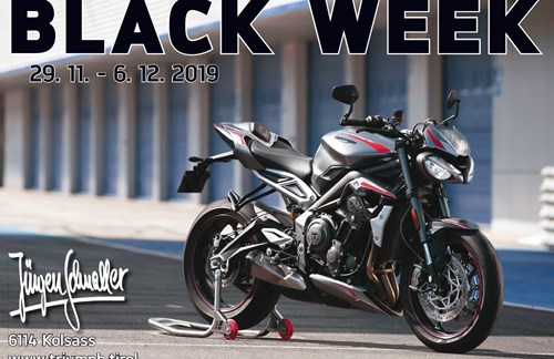Triumh BLACK WEEK