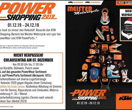 Meister Motorcycle AG-News: Chlausentag / Power Days