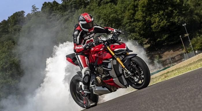 Streetfighter V4 am 18.12. bei Ducati Melle