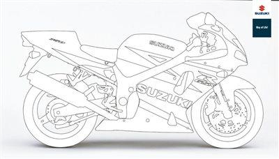 Suzuki Malvorlagen