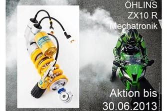Bild zum Bericht: Öhlins Aktion bis 30.06.2013 - Mechatronik System für Kawasaki ZX10R