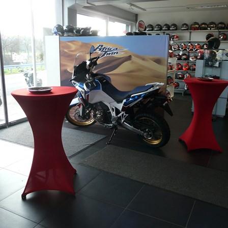 Gelungene Premiere der neuen CRF 1100 Africa Twin sowie Adventure Sports