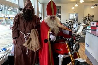 Hoher Besuch bei Pat Bikes