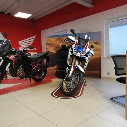 Probefahrt mit der neuen CRF1100 Africa Twin und Adventure Sports