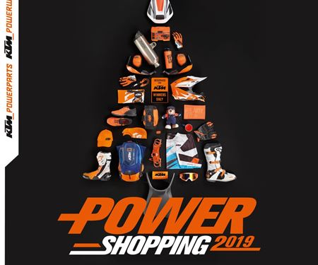 Motobike Handels GmbH-News: KTM Powershopping noch bis 24.12.2019....