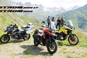 Brandneu die Suzuki V-Strom 1050 und V-Strom 1050 XT anzeigen