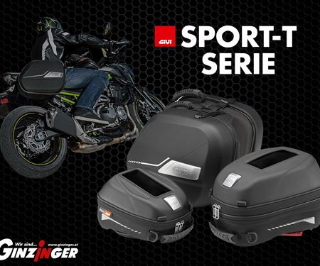 Ginzinger GmbH Salzburg-News: Givi Sport-T für schnelle Bikes!