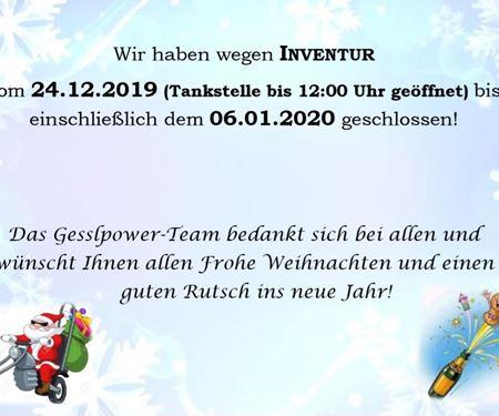 Gesslbauer GmbH-News: Inventur 2019