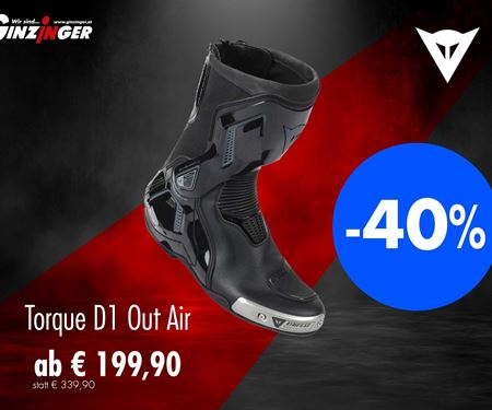 Ginzinger GmbH Innsbruck-News: Dainese Torque D1 Out Air in AKTION!!