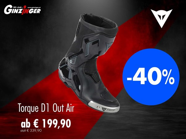 Dainese Torque D1 Out Air in AKTION!