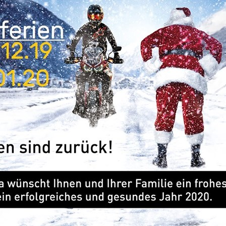 Betriebsferien Winter 19-20