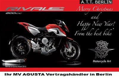 Frohe Weihnachten Motorrad.Frohe Weihnachten Einen Guten Rutsch Top Gebrauchte Inkl
