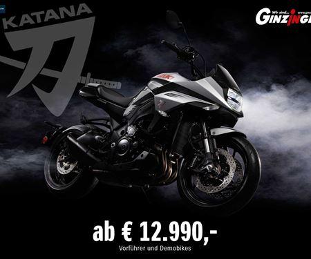 Ginzinger GmbH Traun-News: Suzuki Katana ab €12.990,-