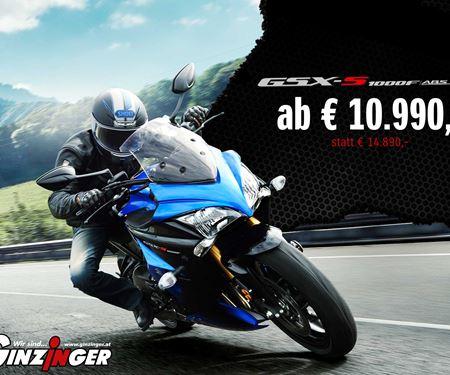 Ginzinger GmbH Zentrale Ried-News: Suzuki GSX-S1000F in Aktion!