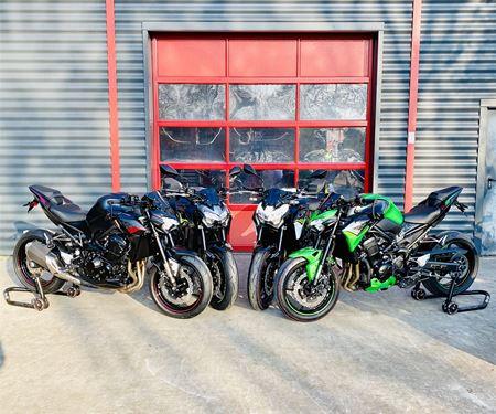 BikerWorld Rosenow-News: Z900 - alle Farben live bei uns!