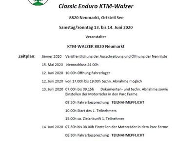NEWS Ausschreibung 30. Neumarkter Wertungsfahrt (International)