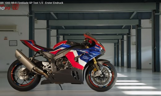 Honda Semmler - Video CBR1000RR-R Teil 1