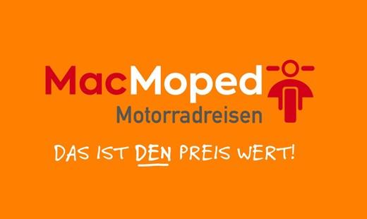 MacMoped macht Motorradreisen preiswert
