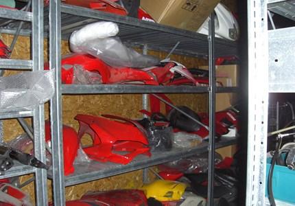 Ducati Gebrauchteile b. DucatiSalzburg