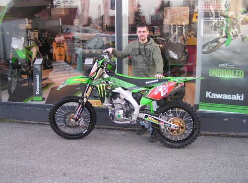 Good by  KX 250 Showroombike !!