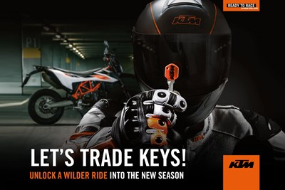 "KTM SONDERAKTION ""LET´S TRADE KEYS"""