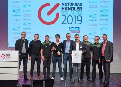 NEWS Top-Platzierung bei Motorradhändler des Jahres 2019