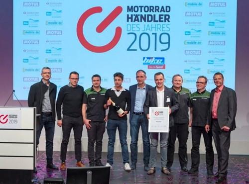 Motorradhändler des Jahres 2019