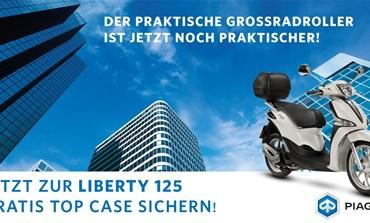 Piaggio Liberty Top-Case Aktion