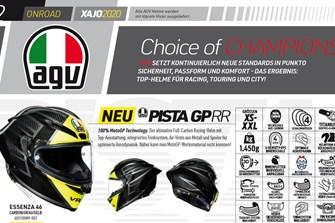 Der XAJO (AGV) Katalog zum downloaden