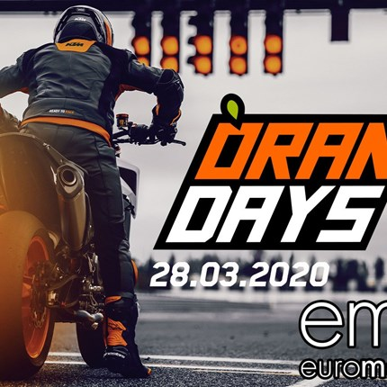 KTM Orange Day - 28.03.2020  KTM ORANGE DAYS 2020  Wir laden am Samstag, dem 28. März 2020 zum KTM ORANGE DAY ein. Starte READY TO RACE in die kommende Sais... Weiter >>